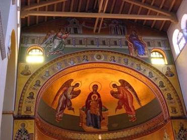 Конха (базилика Святого Димитрия)