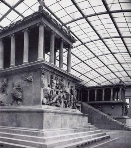Пергамский алтарь, 1-я пол. II в. до н.э.