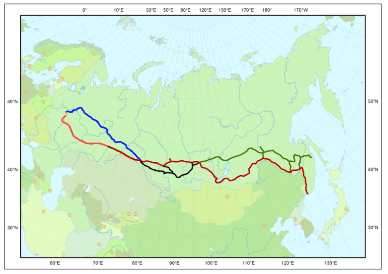 File:Map Trans-Siberian railway.png