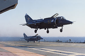 RIAN archive 477421 Yak-38P fighter aircraft.jpg