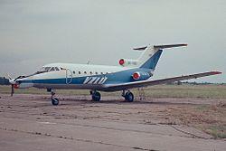 http://upload.wikimedia.org/wikipedia/commons/thumb/0/03/Yak40-ok-020-flight-research-institute-czech-praha-kbely-lkkb.jpg/250px-Yak40-ok-020-flight-research-institute-czech-praha-kbely-lkkb.jpg