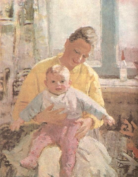 В.К. Нечитайло - Материнство