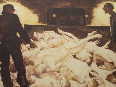 Фрагмент картины Михаила Савицкого из цикла