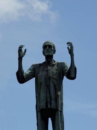 памятник жертвам концлагерей