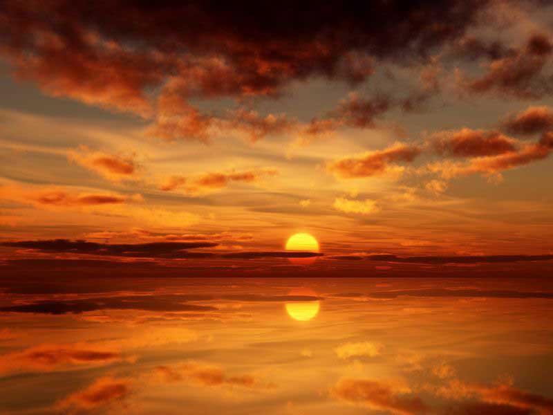море, Заход, солнце, 3000x1792 обои на рабочий стол картинки 1024x600 скачать бесплатно