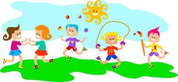 Clipart Children Playing Games