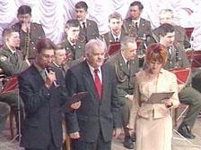 Олег Кульдяев принимает поздравления