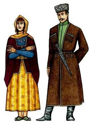 18 век одеждa женскaя