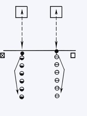 Попади в квадрат - спортивная игра (описание, правила, рекомендации)