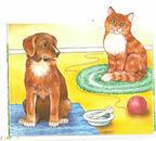 Рядом с человеком в доме живут кошка и собака - Картинка 14525/4