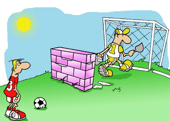 Поздравления футбольным вратарям