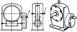 Червячно-цилиндрический двухступенчатый редуктор