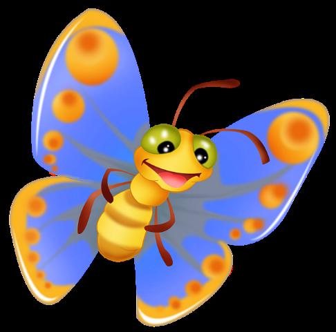 Бабочки для детей - Оригами