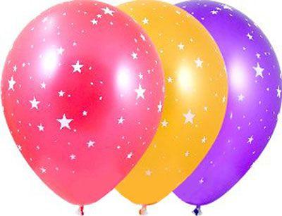 Товары для праздника, воздушные шары в магазинах