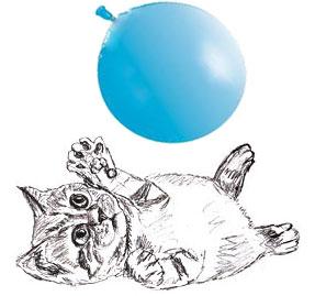 рисунок котенка