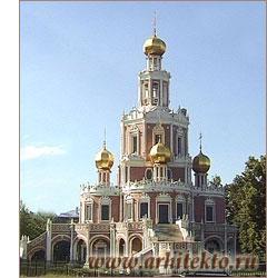 Церковь Покрова Богородицы в Филях под Москвой. 1690—1693 - www.Arhitekto.ru