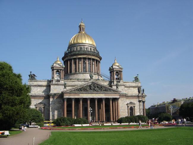 Исаакиевский собор в г. Санкт-Петербург