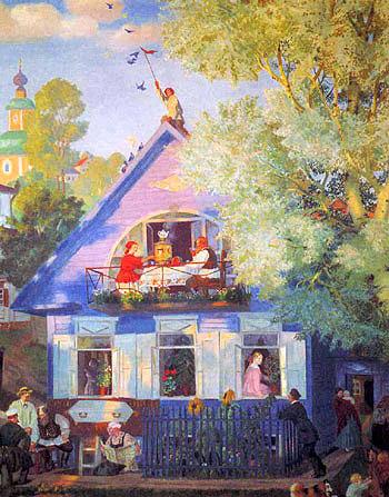 Голубой домик, 1920 год