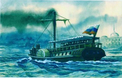 Первый русский пароход - karlikvova- я.ру